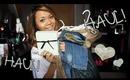 ♥ Mini Fashion Haul (ZARAAAAA!!!!)