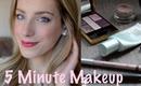 Easy, 5 Minute Makeup Look