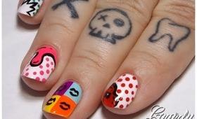 Pure Pop Art Nails Tutorial