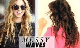 "★ ""MESSY"" BEACH WAVES TUTORIAL 
