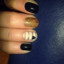 Nailart Inspired By A Photo I Saw :)