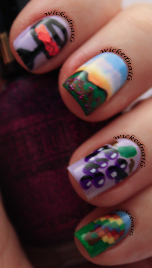 Wine County Nails, a winning entry for the Official Pure Ice My City contest in January 2013!