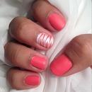 Matte Pink Zebra