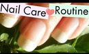 My Nail Care Routine! ✿ Highly Requested~