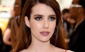 Get Emma Roberts' Glowing Met Gala Look