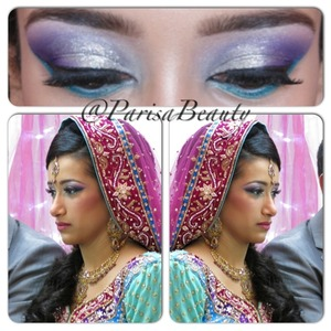 Mint n purple 