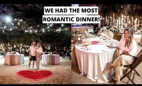 WE HAD THE MOST ROMANTIC DINNER IN BALI   Samabe Bali Suites & Villas