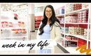WEEK IN MY LIFE | cooking, staying positive & target holiday shop!