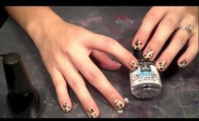 How To :: Leopard Print Nails!