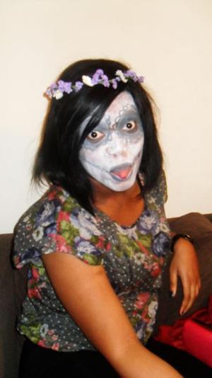 Dia de los muertos for halloween special at work!