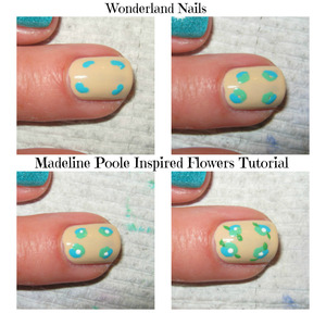 For more info please visit my blog http://wonderland-nails.blogspot.com/2013/07/tutorial-madeline-poole-inspired-flowers.html