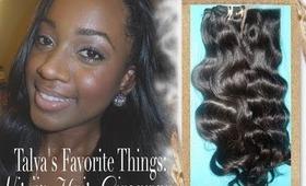 Talya's FavoriteThings - Virgin Hair Giveaway!!