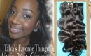 Talya's FavoriteThings - Virgin Hair Giveaway!!