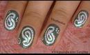 Marc Jacob Inspired Nail Art Design