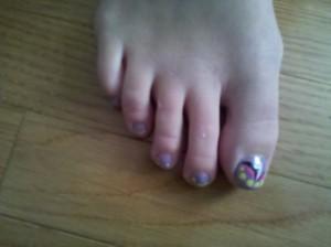 My best friend's feet :)