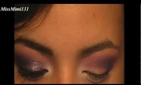 Purple Sparkle Sugarpill Goodness Makeup Tutorial