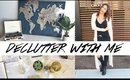 Declutter With Me & Apartment Update VLOG