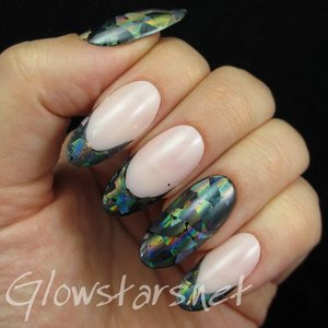 Read the blog post at http://glowstars.net/lacquer-obsession/2015/01/foil-french-manicure/