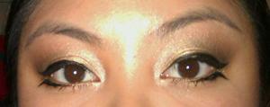 Bottom Winged Eyeliner- Urban Decay Naked 2 Palette & UD 24/7 Liquid Liner in Perversion