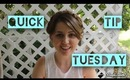 Quick Tip Tuesday:  Shampoo and Conditioning Your Hair