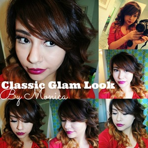 HELLO LADIES CHECK OUT MY CLASSIC GLAM LOOK THAT GOES WITH ANY OUTFIT, CAN BE A DAY OR NIGHT LOOK & YOU CAN WEAR ANY LIPSTICK WITH IT.    ALL BRUSHES ARE FROM  COASTAL SCENTS THE POWDER BRUSH IS FROM REAL TECHNIQUES.