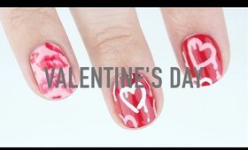 Valentine's Day Nails - Drippy Hearts & Lips!