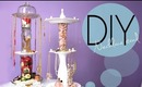 DIY Make a Necklace and Jewelry Display Spinning Stand How To