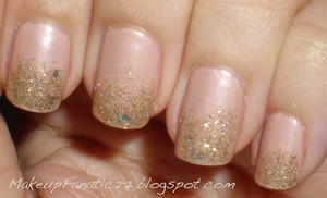 Sprinkle! Check out what's on my nails on my blog! Will update tomorrow!