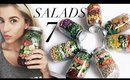 Meal Prep With Me: 7 Mason Jar Salads