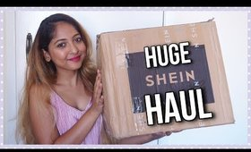 HUGE #SHEIN HAUL + TRY ON | Stacey Castanha