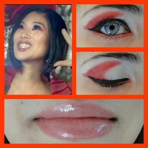 my take on Victorias makeup