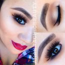 Fuchsia-Red Lips