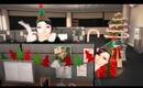 Kim Kardashian & her twin dancing in Elf Yourself