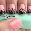 Black Polka Dots on Pink!  I'm in Love w/This Design