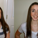Before and after! hair and makeup