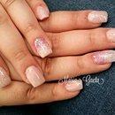 Nude Nails/Pink Nails/Glitter Nails/Nails