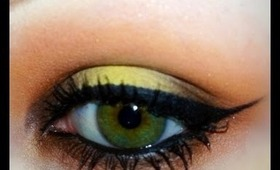 Step by Step Makeup in 15 Seconds: Orange and Yellow Smokey Eye