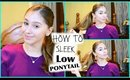 How to: Sleek Low PonyTail ♡