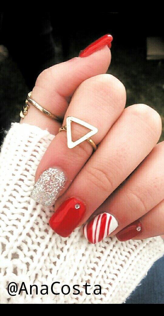 Christmas Nails Gel.Christmas Gel Nails Ana C S Photo Beautylish