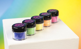 Must Try: Neon Glitter Pigments