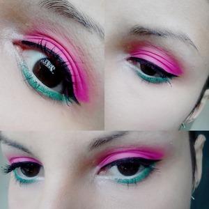 Spring make-up.