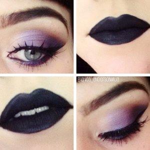 Anastasia Amrezy Pallete on eyes Dipbrow Eyeko liner Lime Crime Black Velvet