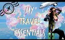 My Travel Essentials | Airport Outfit + Whats in My Carry On Bags