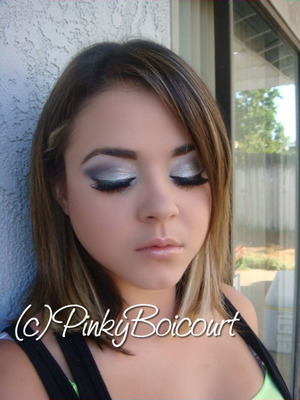 Oakland Raider Inspired tutorial