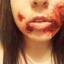 Halloween Mouth Sores Wounds