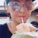 Fresh coconut, yum!