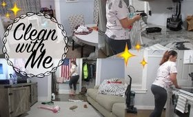 CLEAN WITH ME | Cleaning Motivation | MESSY HOUSE | Real Life Cleaning