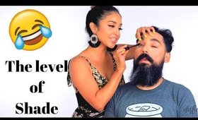 I Did My Husbands Makeup | Dulce Candy and Jesse
