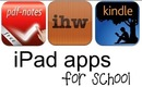 iPad Apps for School ~ Organization, Reading, Notes, PDFs