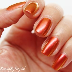 Color Me Monthly is a monthly subscription to receive one unique shade per month, $7.00 a month, best subscription for polish addicts! October's shade is a gorgeous copper duo-chrome! http://www.beautybykrystal.com/2014/10/color-me-monthly-october-pennywise.html